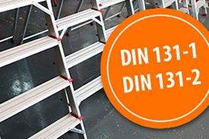 Leitern DIN 131-1 DIN 131-2 Gödde GmbH Leiter