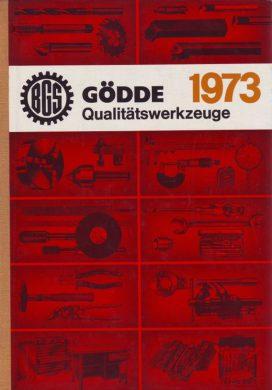 Gödde Werkzeugkatalog Werkzeuge 1970