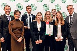 DEICHMANN-Förderpreises Urkunde Team Gödde GmbH