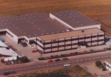 Luftansicht Neubau Gödde GmbH 1988