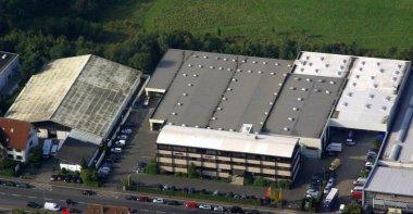 Luftaufnahme Aufstockung Anbau Gödde GmbH