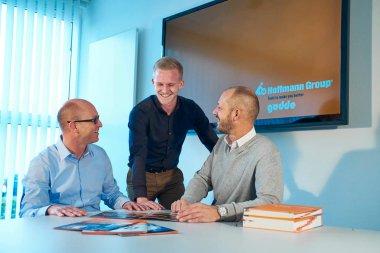 Kollegen Team Gödde GmbH Besprechung Gespräch