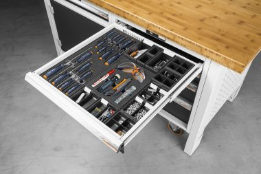 Einteilungsmaterialien GARANT GridLine Konzept Betriebsstätten Einrichtung Betriebseinrichtung Gödde GmbH