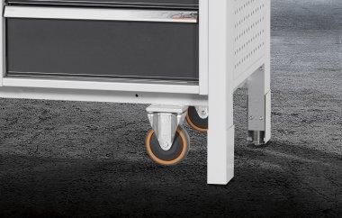 GARANT GridLine mit elektrisch einfahrbaren Füße