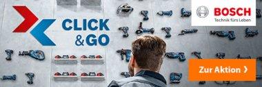 Bosch Click and Go Elektrowerkzeug Werkzeug Gödde GmbH