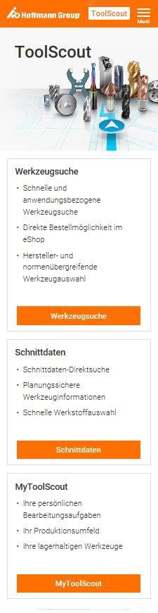 """Responsive Design für den """"ToolScout"""" der Hoffmann Group"""