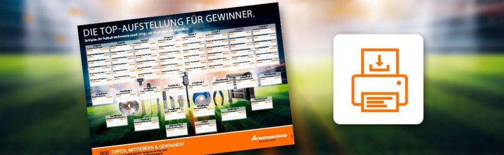 WM 2018 Spielplan Gödde GmbH