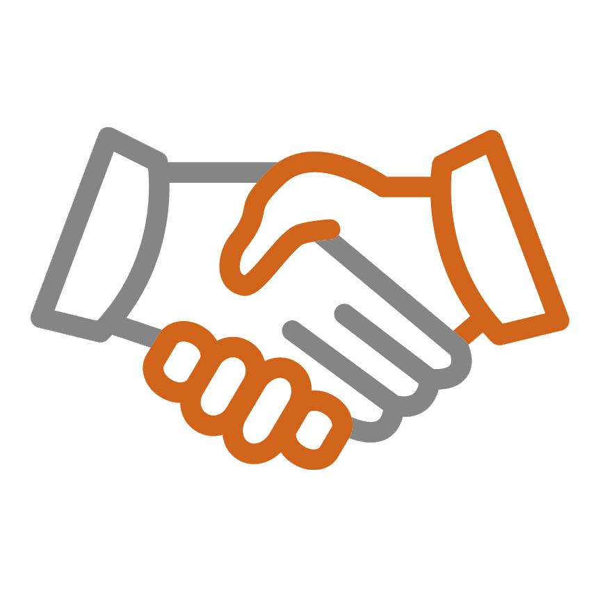 Handshake Hände Icon Gödde GmbH