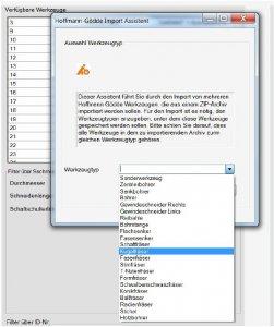 Automatische Artikelanlage über den Hoffmann Import Assistenten