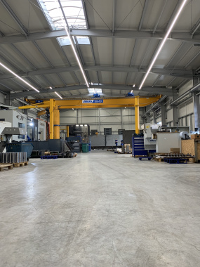 Werkhalle Limbach Maschinen GmbH