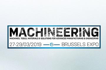 Expo Machineering – Mars 2019 à Bruxelles